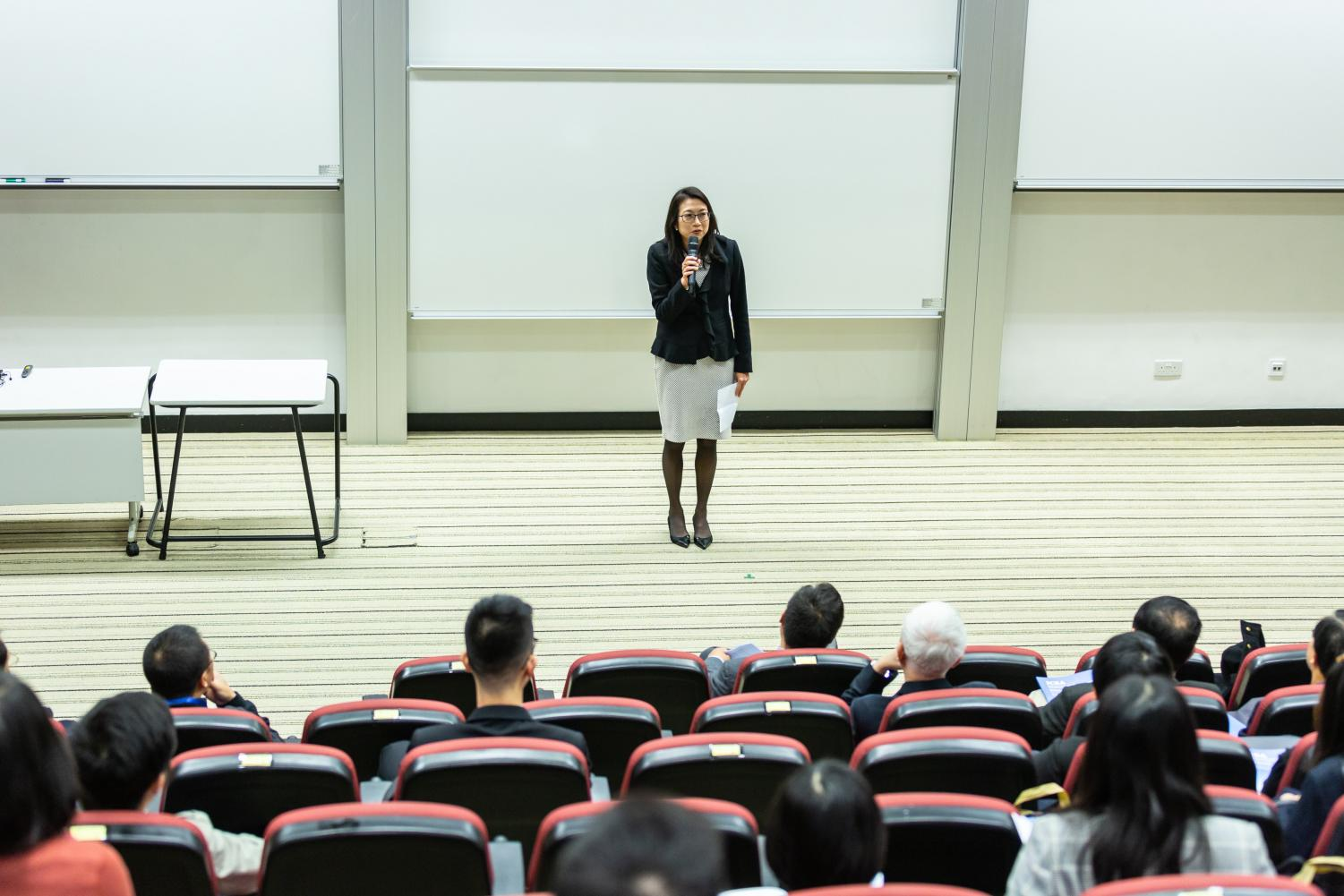 Exceptional student-professor relationships improve the quality of every class.