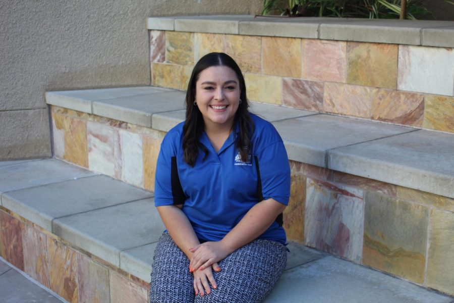 Stacey Strubhar found her place by working with the O-team here on campus.