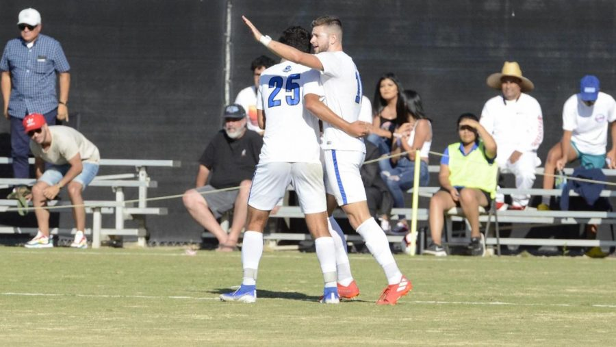 Cougars Men's Soccer Prevail against Stanislaus State Warriors