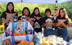 Students Celebrate Dia de los Muertos with Altar Display