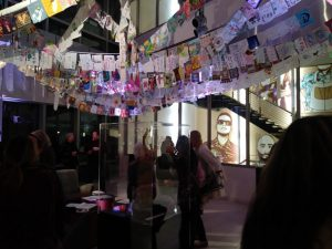Expressive arts therapist speaks on Hope Made Visible exhibit