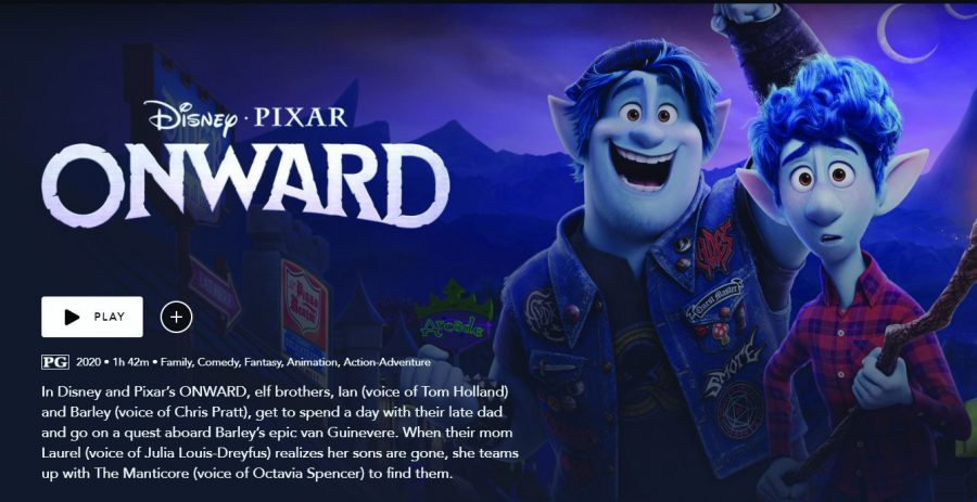 In Pixar's Onward, brothers Barley (left) and Ian (right) go on an adventurous journey to bring back their father.