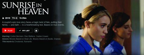 Sunrise in Heaven depicts the romance between Jan (Caylee Cowan) and Steve (Travis Burns).