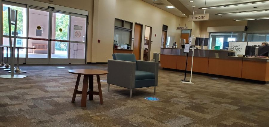 Students can visit the IT Help Desk, located on the 2nd floor of Kellogg Library, on an appointment basis.