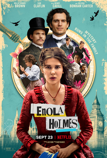 Enola Holmes is now available to stream on Netflix.