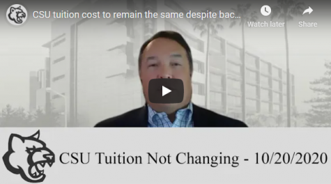 VIDEO: CSU tuition cost to remain the same despite backlash from CSU students