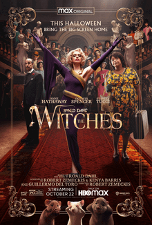 Octavia Spencer and Anne Hathaway star in HBO Max's rendition of Roald Dahl's The Witches.