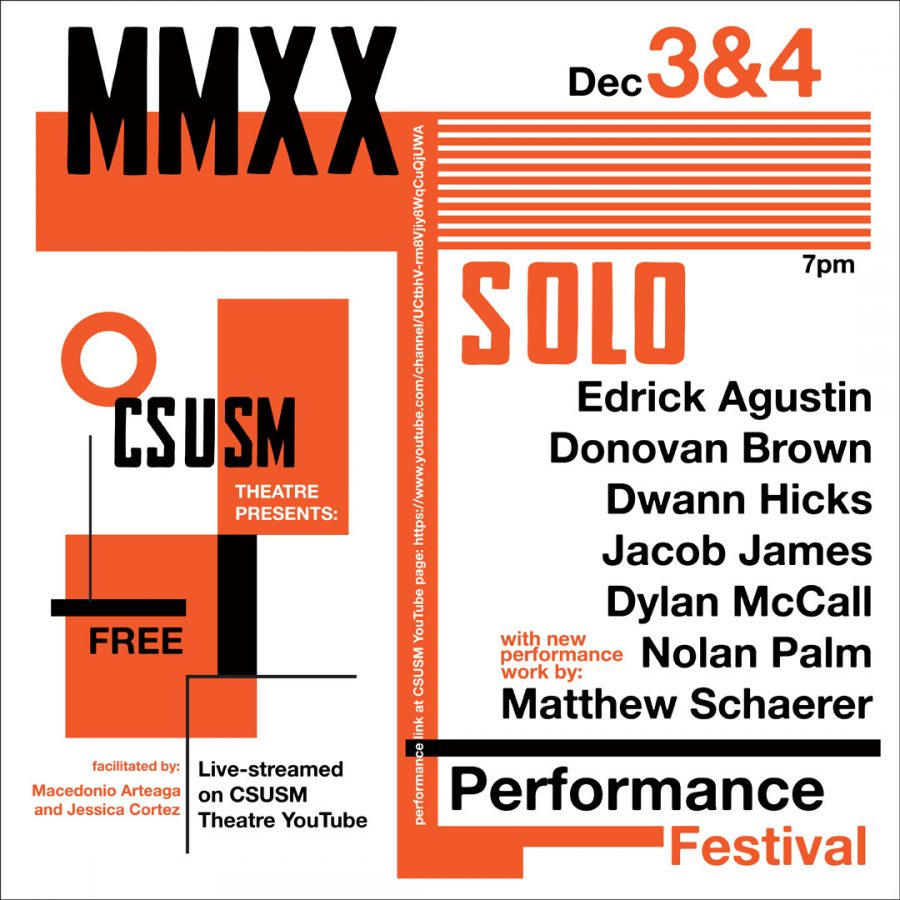 CSUSM+theatre+hosted+their+final+performance+of+the+fall+semester%2C+Solos.