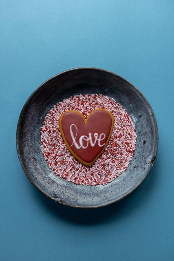 Celebrate Valentines Day with festive gluten-free sugar cookies.