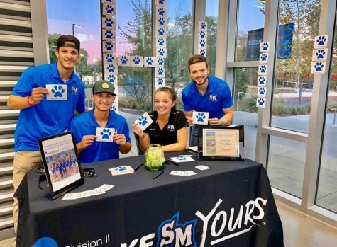 The CSUSM Student Athlete Advisory Committee enjoys fundraising to support the Make-A-Wish America Foundation.