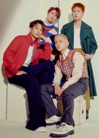 SHINee's newest album Don't Call Me is available on all listening platforms.