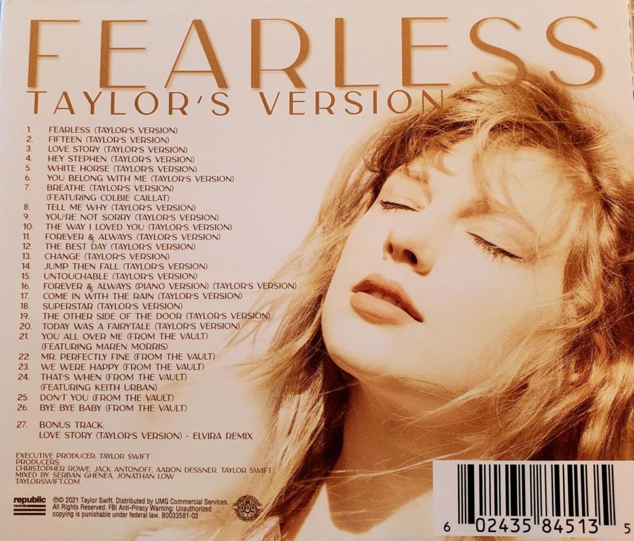 Fearless (Taylor's Version) includes 26 songs, six of which have never been released.