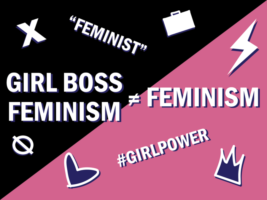 Girl boss feminism ignores almost every aspect of feminism, while presenting itself as such.