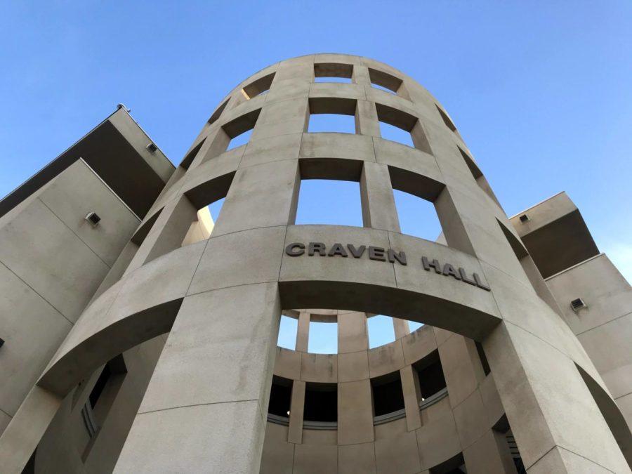 The Academic Senate endorsed renaming Craven Hall due to the legislator's controversial remarks toward the Hispanic community.
