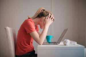 Students are feeling more academic burnout during the online learning period.