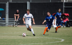 The California Collegiate Athletic Association announced a return to play earlier this month. Pictured is men's soccer player Corbin Thaete, who said he is excited to return to competition.
