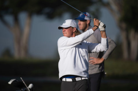 Justin Vrzich is looking forward to starting his professional golf career. He is thankful for all the life lessons CSUSM Athletics has taught him.