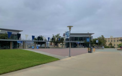 CSUSM students, faculty and staff return to campus after spending more than a year of online instruction.