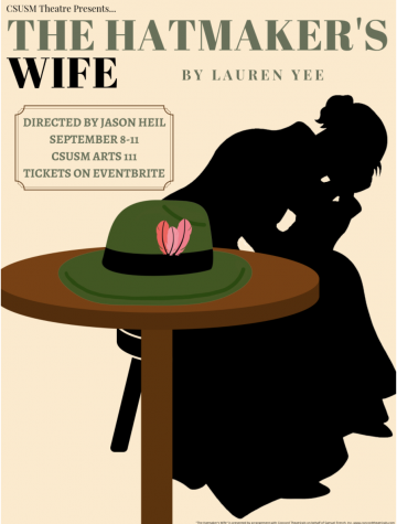 """""""The Hatmaker's Wife"""" is the first in-person production post-pandemic for the CSUSM Theatre Department."""