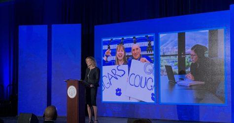 President Neufeldt gave her third annual Report to Community address on Sept. 30.
